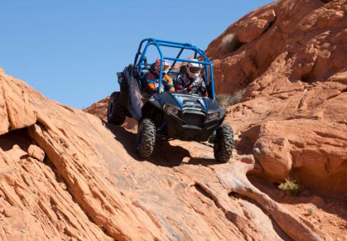 2013 Polaris RZR XP 900 H.O. Jagged X Action Rocks