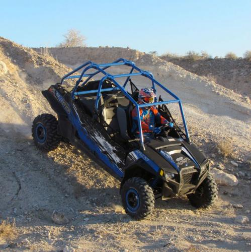 2013 Polaris RZR XP 900 H.O. Jagged X Action Downhill