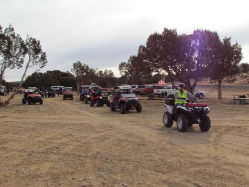 Tri-State ATV Jamboree Staging Area