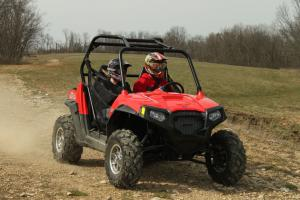 2013 Polaris RZR S 800 Action Front Right