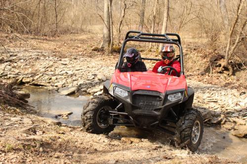 2013 Polaris RZR S 800 Water Crossing