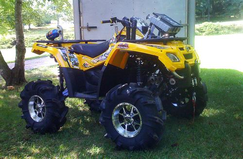Can-Am ATV Mudder