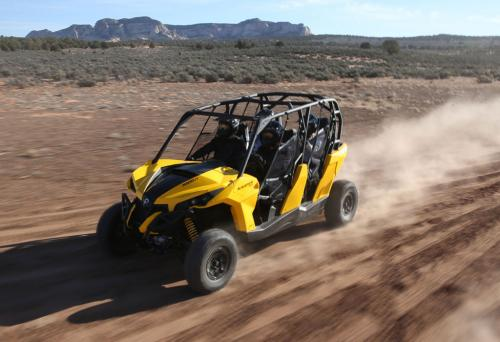 2014 Can-Am Maverick MAX 1000R Action