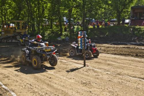 2013 White Knuckle Utility ATV Drag Race