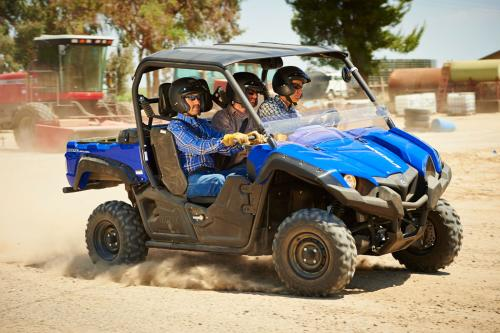 2014 Yamaha Viking 700 Action