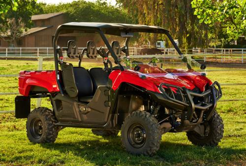 Ready To Be Outfitted With A Host Of Yamaha Accessories The 2014 Viking 700 Is Set Replace Rhino