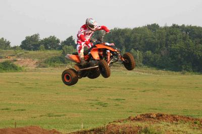 There's plenty of power in the new KTMs to clear the doubles.