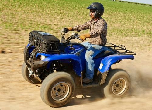 2014 Yamaha Grizzly 700 Action Left