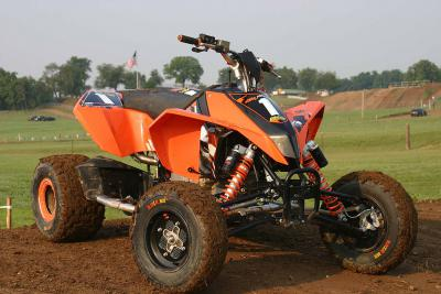 KTM's new motocross-specific steed.