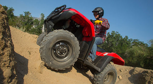 2014 Honda FourTrax Foreman Action Climb