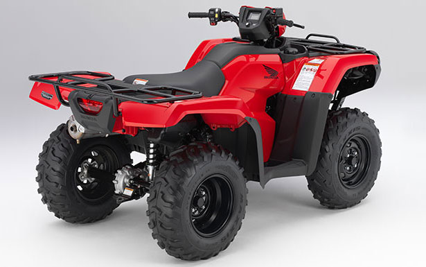 2014 Honda FourTrax Foreman Right Rear