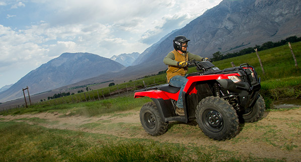 2014 Honda FourTrax Rancher Action