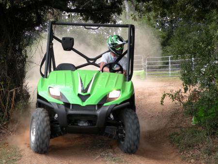 Kawasaki made major upgrades to the Teryx for 2009.