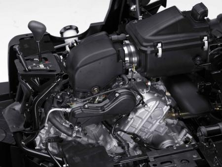 The addition of fuel injection gives the Teryx noticeably better acceleration.