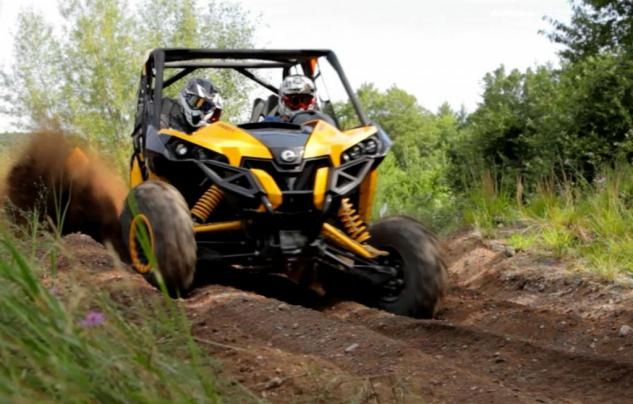 2014 Can-Am Maverick MAX X rs Action Suspension