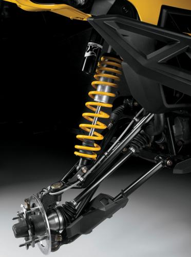 2014 Can-Am Maverick MAX X rs Front Suspension