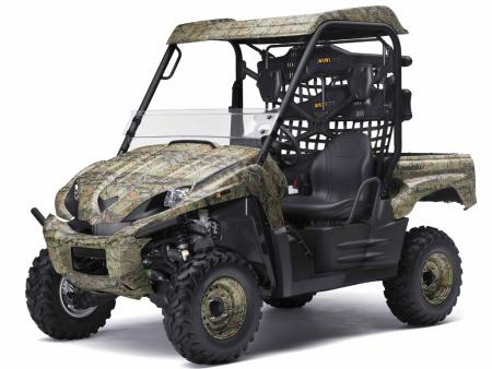 Hunters should be happy to see the return of the NRA Outdoors Teryx.