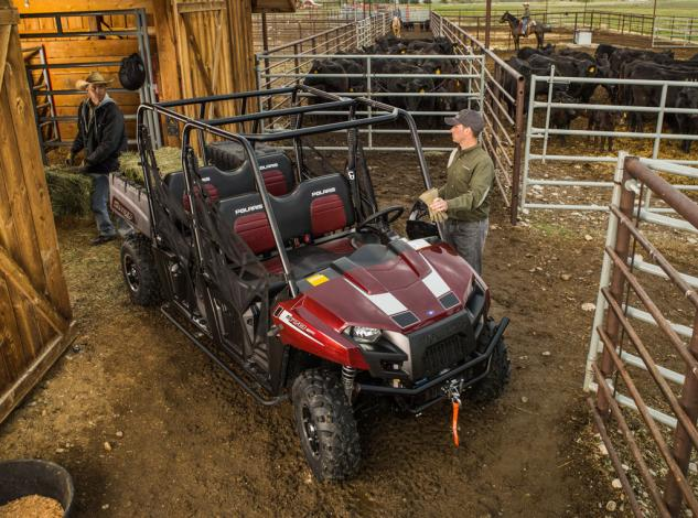 2014 Polaris Ranger Crew 570 Action