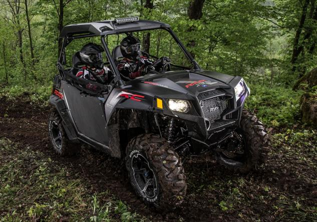 2014 Polaris RZR 800 XC Action