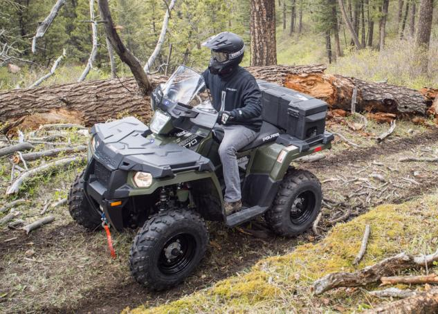 2014 Polaris Sportsman 570 Action Green