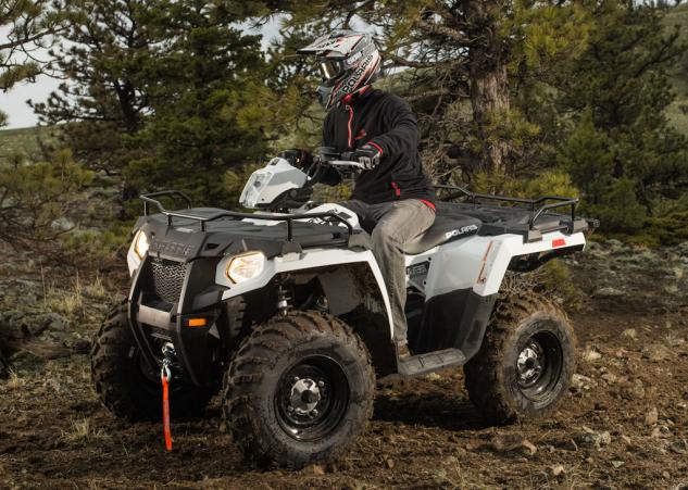 2014 Polaris Sportsman 570 EPS Action