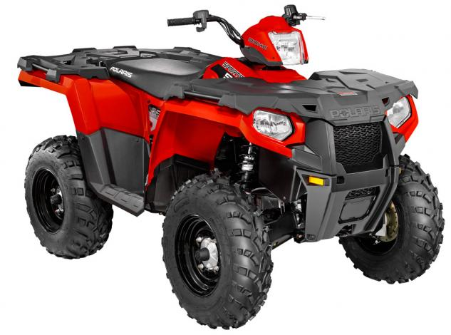 2014 Polaris Sportsman 570 Red 3Q