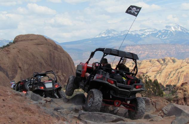 Rock Crawling High Centered