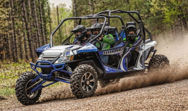 2014 Arctic Cat Wildcat 4 X Action