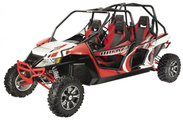 2014 Arctic Cat Wildcat 4 X Red