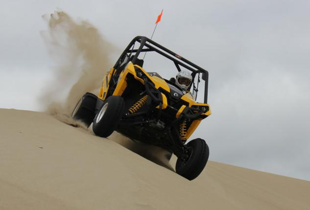Can-Am Maverick Action Dunefest