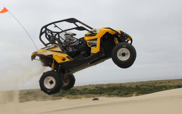 Can-Am Maverick Jump