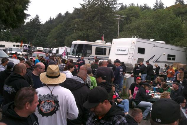 Oregon Dunefest Party