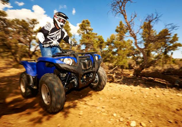 2014 Yamaha Grizzly 700 EPS Action Blue