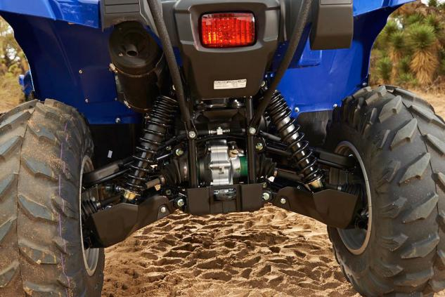 2014 Yamaha Grizzly 700 EPS Rear Suspension
