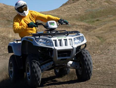 For a serious kick in the dirt, there's nothing like the Thundercat and it's 188-lbs-ft of torque.