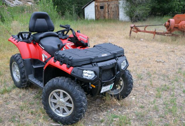 2013 Polaris Sportsman Touring 850 EPS Front Right