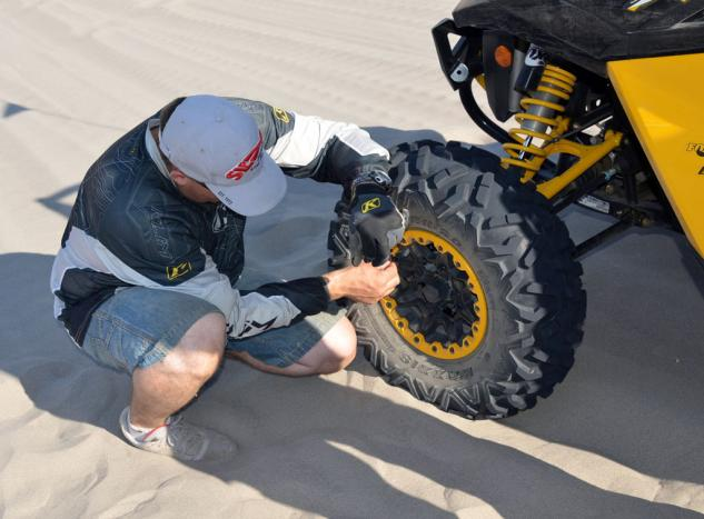 2013 Can-Am Maverick 1000 X rs Tire Pressure