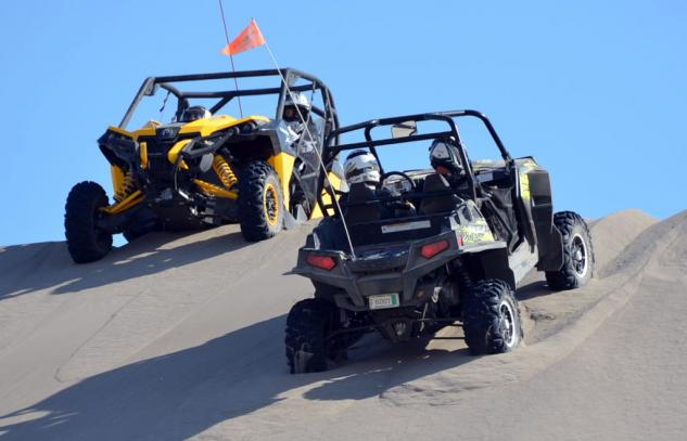 2013 Can-Am Maverick and 2013 Polaris RZR XP 900