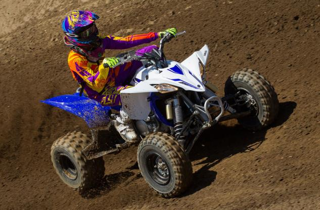 2014 Yamaha YFZ450R Action 06