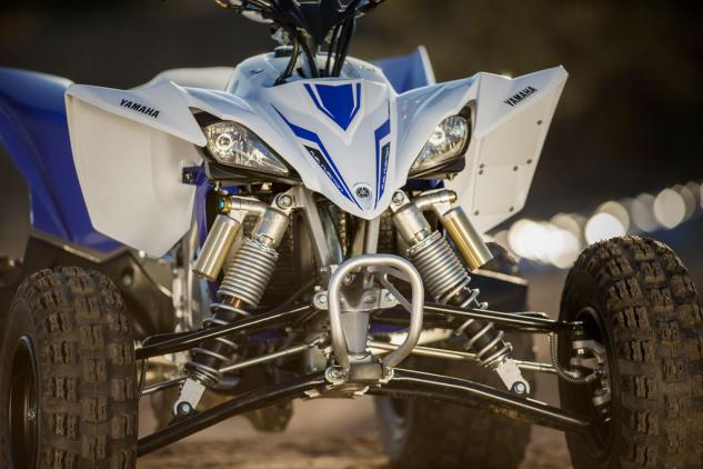 2014 Yamaha YFZ450R Front Suspension