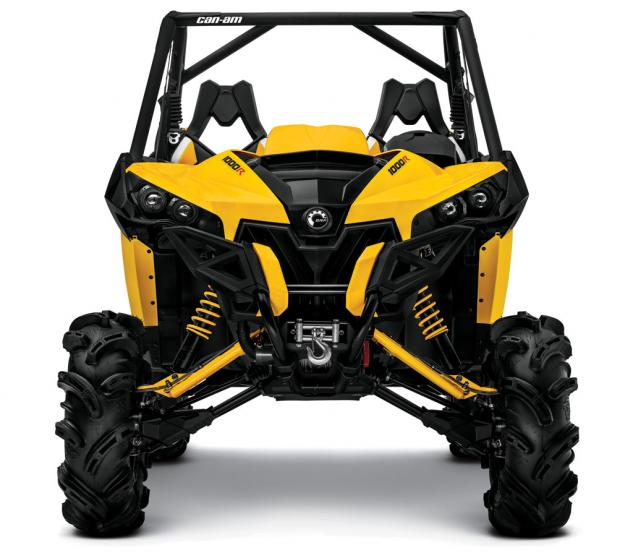 2014 Can-Am Maverick 1000R X mr Front