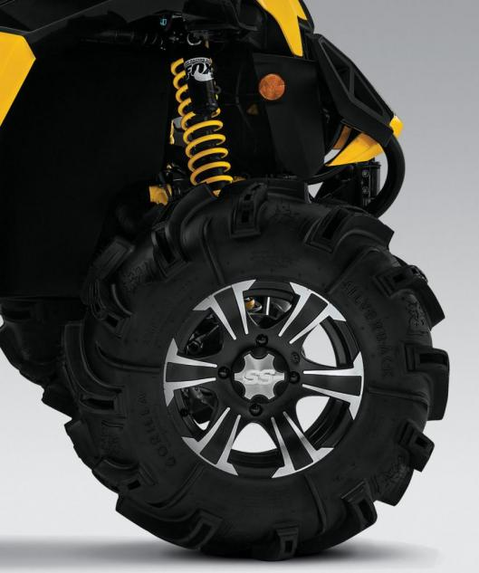 2014 Can-Am Maverick 1000R X mr Front Wheel