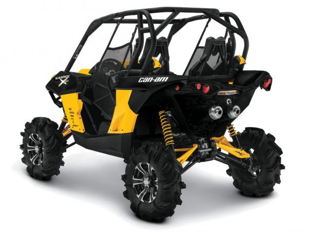 2014 Can-Am Maverick 1000R X mr Rear