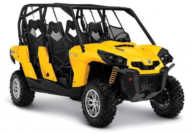 2014 Can-Am Commander MAX 1000R DPS Front Right