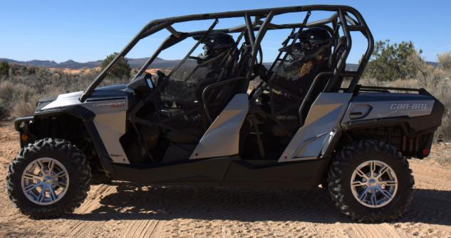 2014 Can-Am Commander MAX 1000 XT Profile