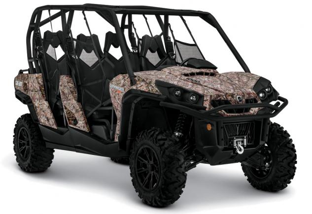 2014 Can-Am Commander MAX 1000 XT Studio Camo