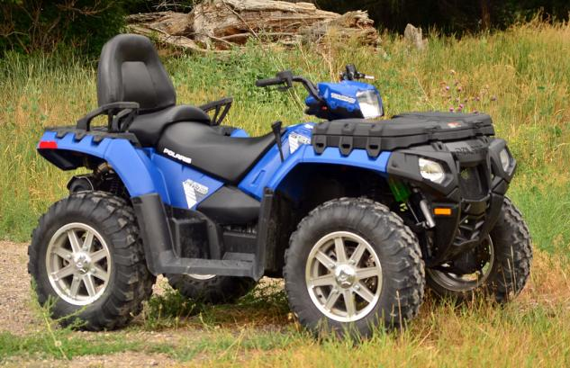 2013 Polaris Sportsman Touring 550 EPS Profile