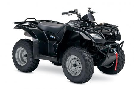 Suzuki celebrates the 25th anniversary of the first four-wheeled ATV with the this special edition KingQuad 400AS.