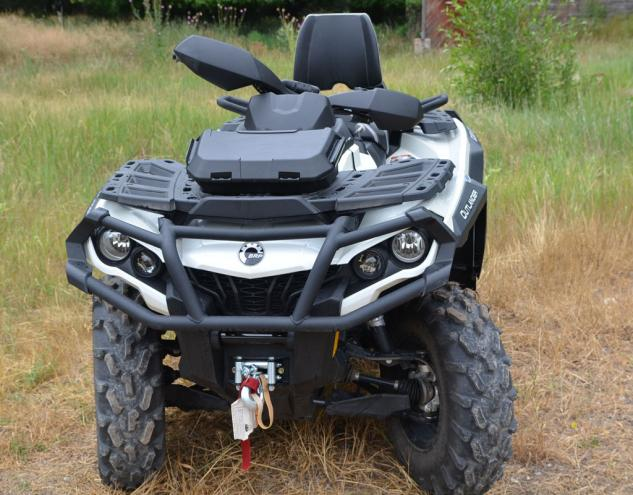 2013 Can-Am Outlander MAX 1000 LTD Front