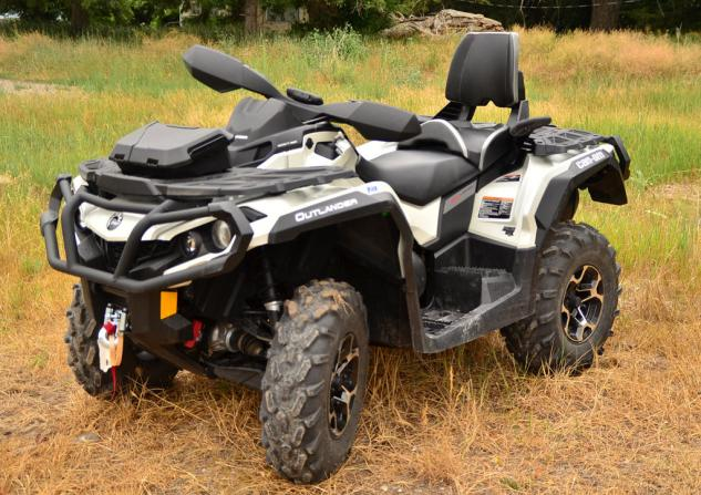 2013 Can-Am Outlander MAX 1000 LTD Front Left